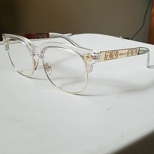 Other - Versace sunglasses clear lenses.